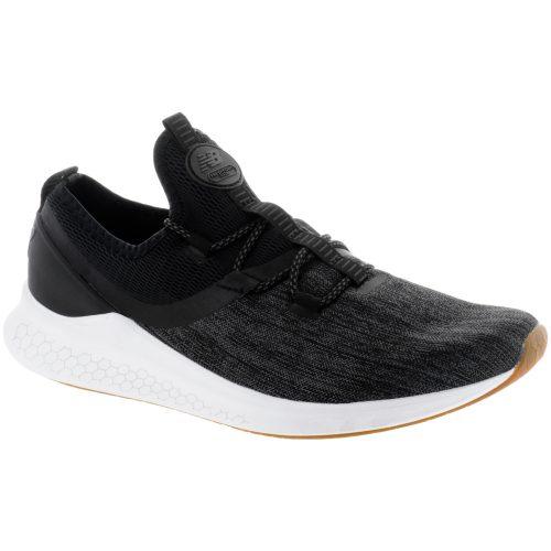 New Balance Fresh Foam LAZR: New Balance Men's Running Shoes Black/White