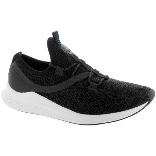 New Balance Fresh Foam LAZR: New Balance Men's Running Shoes Phantom/Black/White Munsell/Maldives