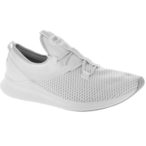 New Balance Fresh Foam LAZR: New Balance Men's Running Shoes White Munsell/Rain Cloud