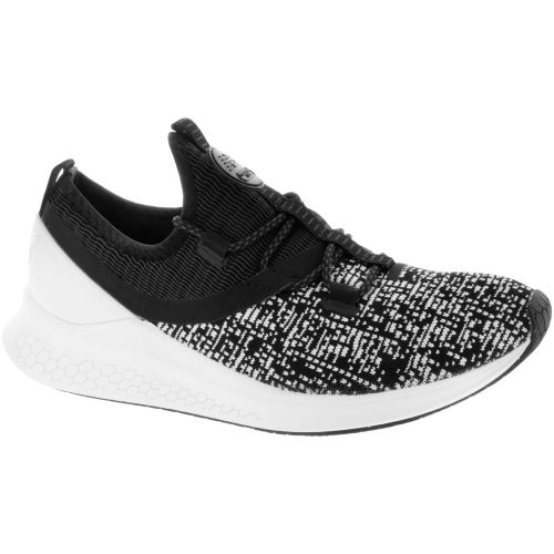 New Balance Fresh Foam LAZR: New Balance Women's Running Shoes Black/White Munsell