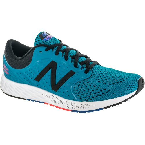 New Balance Fresh Foam Zante v4: New Balance Men's Running Shoes Maldives Blue/Black/Flame