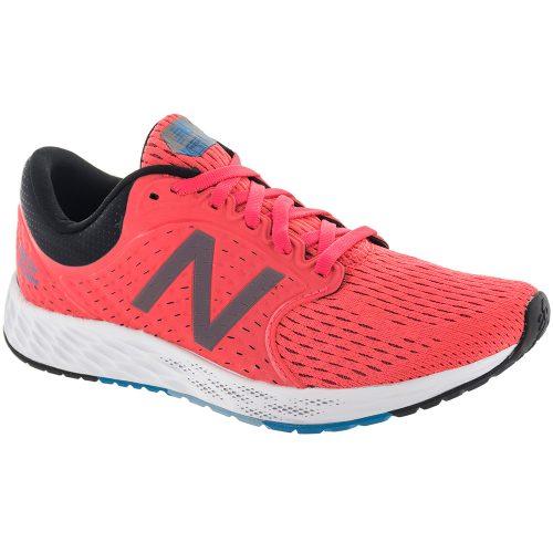 New Balance Fresh Foam Zante v4: New Balance Women's Running Shoes Vivid Coral/Black/Maldives