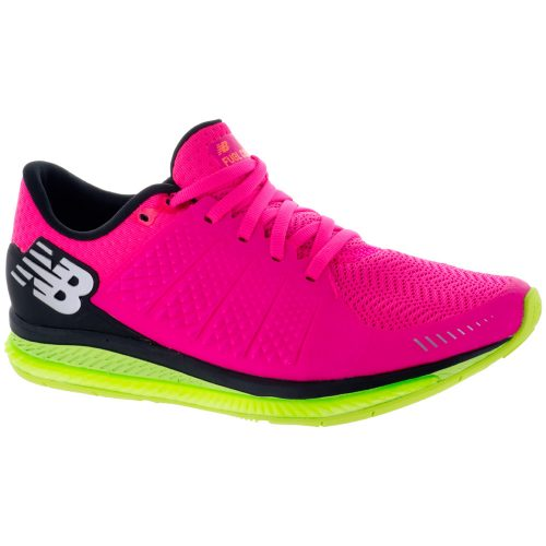 New Balance FuelCell v1: New Balance Women's Running Shoes Alpha pink/Lime glo/Black
