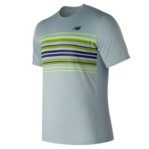 New Balance Graphic Accelerate Crew Spring 2018: New Balance Men's Tennis Apparel