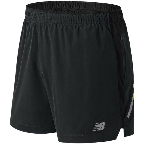 "New Balance Impact 5"" Shorts: New Balance Men's Running Apparel Spring 2018"
