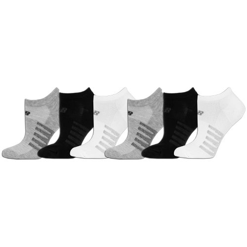 New Balance Lifestyle No Show Socks 6 Pack: New Balance Socks