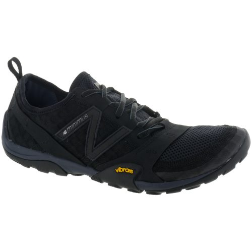 New Balance Minimus 10: New Balance Men's Running Shoes Black/Silver