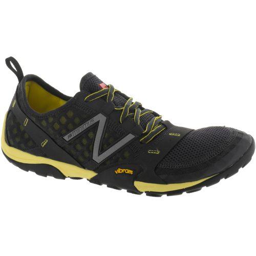 New Balance Minimus 10: New Balance Men's Running Shoes Black/Yellow