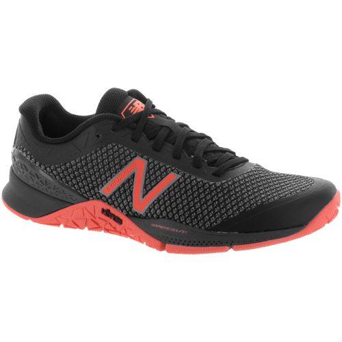 New Balance Minimus 40: New Balance Women's Training Shoes Black/Thunder/Sunrise