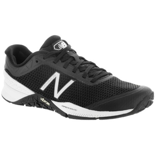 New Balance Minimus 40: New Balance Women's Training Shoes Black/White