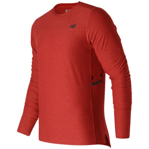 New Balance N Transit Long Sleeve Top: New Balance Men's Running Apparel Fall 2016