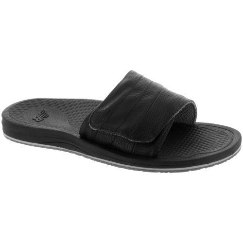 New Balance Purealign Recharge Slide: New Balance Men's Sandals & Slides Black/Gray