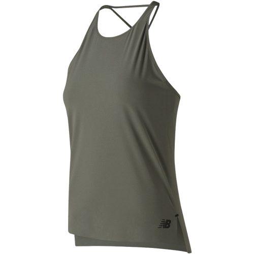 New Balance Q Speed Woven Tank: New Balance Women's Running Apparel