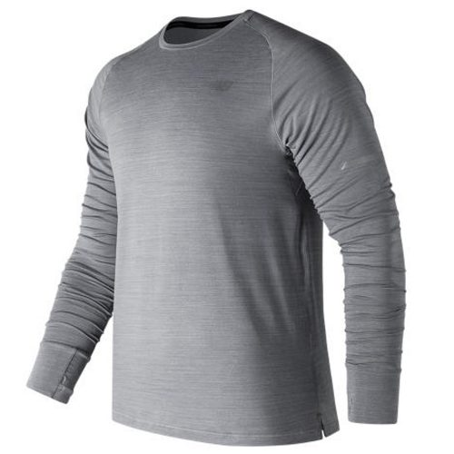 New Balance Seasonless Long Sleeve Top: New Balance Men's Running Apparel Fall 2017