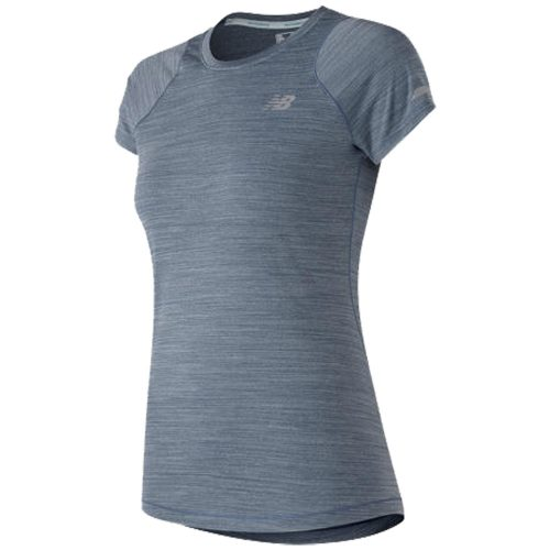 New Balance Seasonless Short Sleeve Top: New Balance Women's Running Apparel