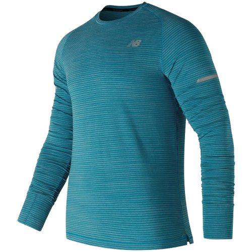 New Balance Seasonless UPF Long Sleeve Shirt: New Balance Men's Running Apparel Spring 2018