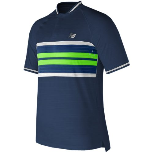 New Balance Tournament Henley: New Balance Men's Tennis Apparel Fall 2017