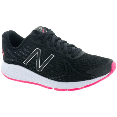 New Balance Vazee Rush v2: New Balance Women's Running Shoes Black/Alpha Pink