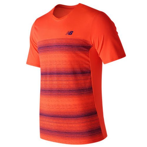 New Balance Yarra Crew French Open: New Balance Men's Tennis Apparel