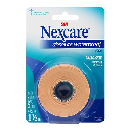 Nexcare Absolute Waterproof Wide Tape 1.5 x 180 inches, 5 yard - 1 ea