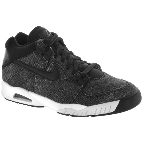 Nike Air Tech Challenge III: Nike Men's Tennis Shoes Black/White