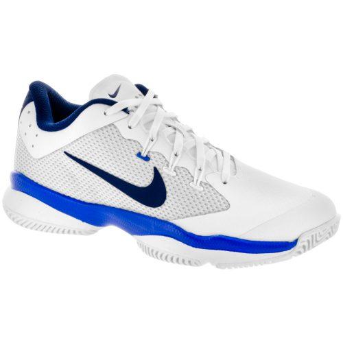 Nike Air Zoom Ultra: Nike Women's Tennis Shoes White/Binary Blue/Mega Blue