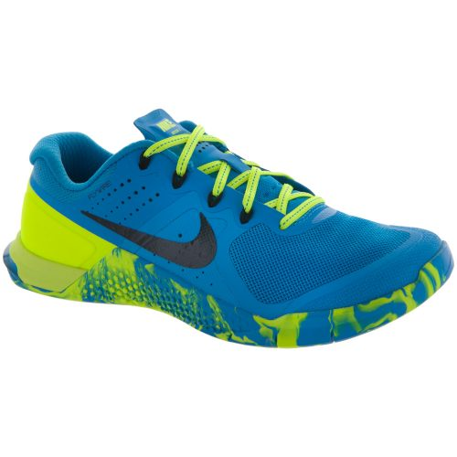 Nike Metcon 2 AMP: Nike Women's Training Shoes Blue Glow/Black/Volt