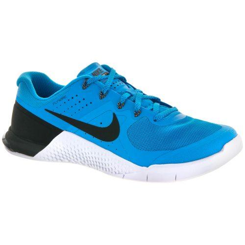 Nike Metcon 2: Nike Men's Training Shoes Blue Glow/Black/White