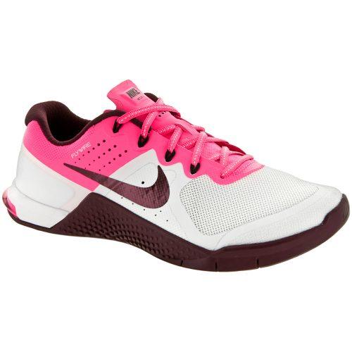 Nike Metcon 2: Nike Women's Training Shoes White/Night Maroon/Pink Blast