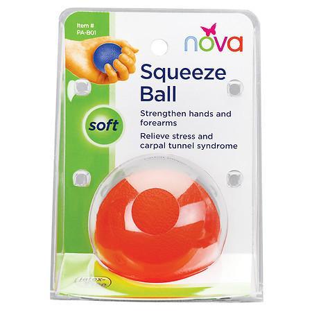 Nova Hand Squeeze Ball Soft - 1 ea