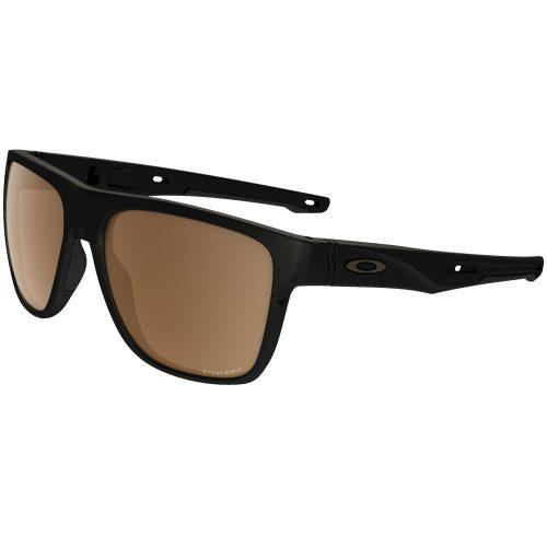 Oakley Crossrange XL Matte Black PRIZM Tungsten Polarized Sunglasses: Oakley Sunglasses