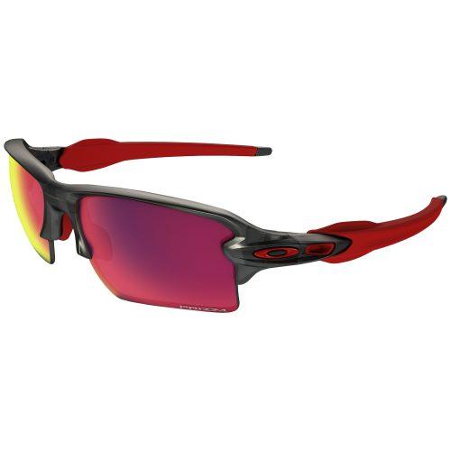 Oakley Flak 2.0 XL Matte Grey Smoke PRIZM Road Sunglasses: Oakley Sunglasses