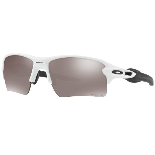 Oakley Flak 2.0 XL PRIZM Polarized Polished White Sunglasses: Oakley Sunglasses