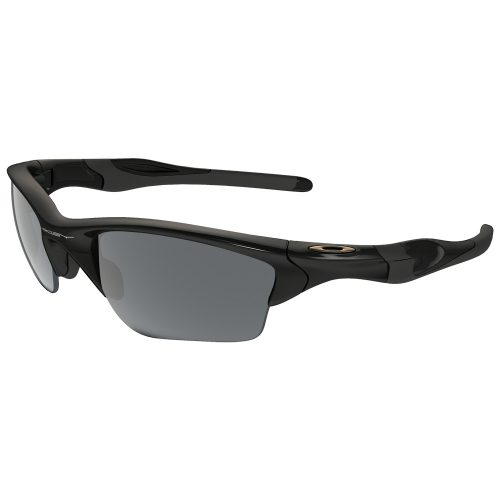 Oakley Half Jacket 2.0 XL Polished Black Sunglasses: Oakley Sunglasses
