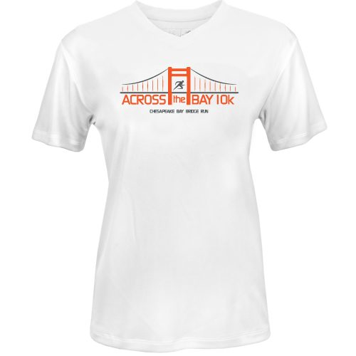 Official Across the Bay 10K In Training Short Sleeve Tee: 10K Across the Bay Women's Bridge Race