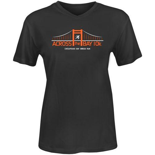 Official Across the Bay 10K In Training Short Sleeve Tee: 10K Across the Bay Women's Bridge Race