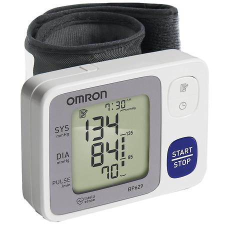 Omron 3 Series Wrist Blood Pressure Monitor, Model BP629 - 1 ea