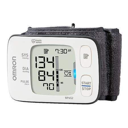 Omron 7 Series Wrist Blood Pressure Monitor, Model BP652 - 1 ea