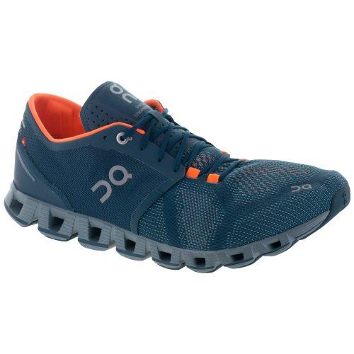 On Cloud X: On Running Men's Running Shoes Storm/Flash