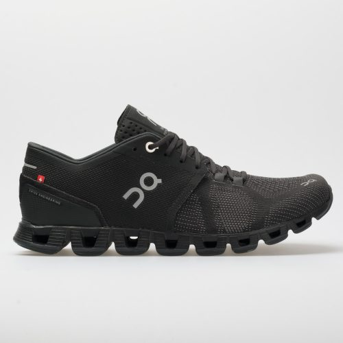 On Cloud X: On Running Women's Running Shoes Black/Asphalt