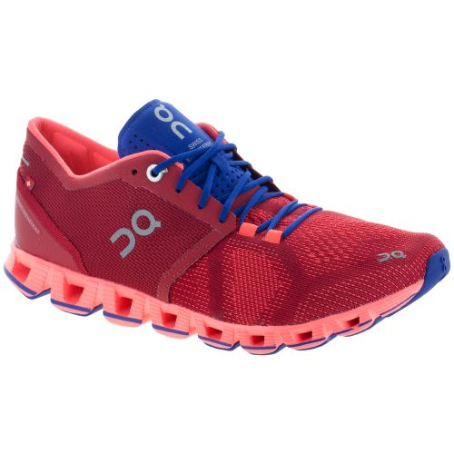 On Cloud X: On Running Women's Running Shoes Red/Flash