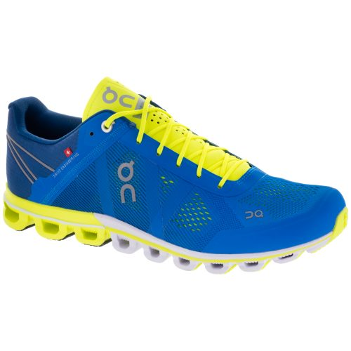 On Cloudflow: On Running Men's Running Shoes Malibu/Neon