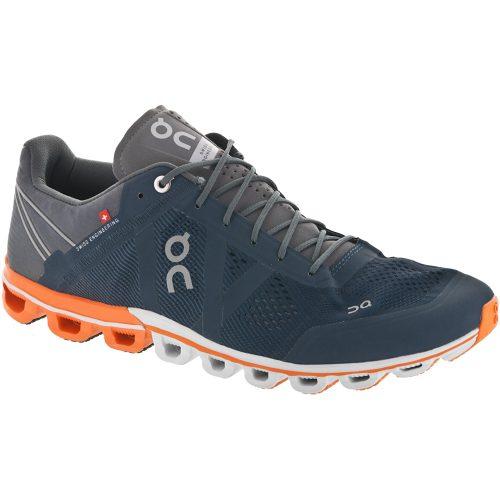On Cloudflow: On Running Men's Running Shoes Rock/Orange