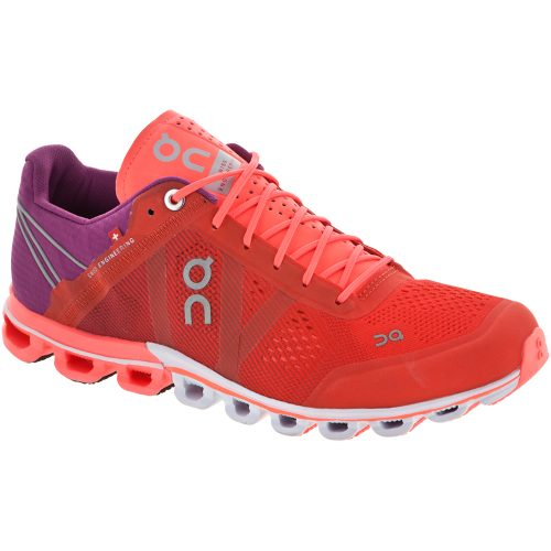 On Cloudflow: On Running Women's Running Shoes Spice/Flash