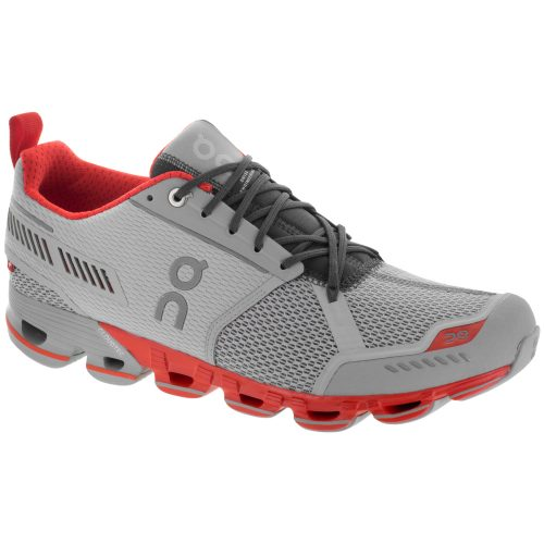 On Cloudflyer: On Running Men's Running Shoes Glacier/Spice