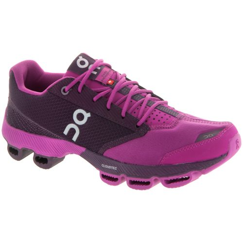 On Cloudster: On Running Women's Running Shoes Magenta/Berry