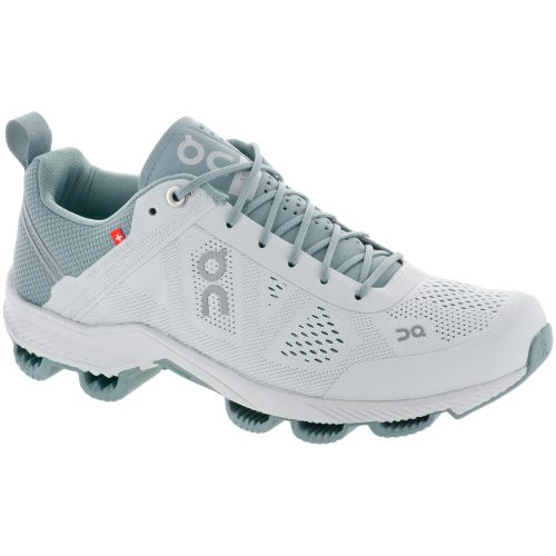 On Cloudsurfer: On Running Women's Running Shoes Glacier/White