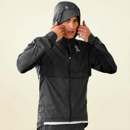 On Weather Jacket: On Running Men's Running Apparel