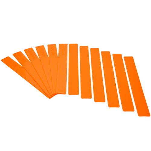 Oncourt Offcourt Orange Long Lines (Set of 12): Oncourt Offcourt Tennis Training Aids