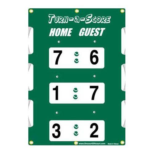 Oncourt Offcourt Turn-a-Score: Oncourt Offcourt Tennis Scorekeepers